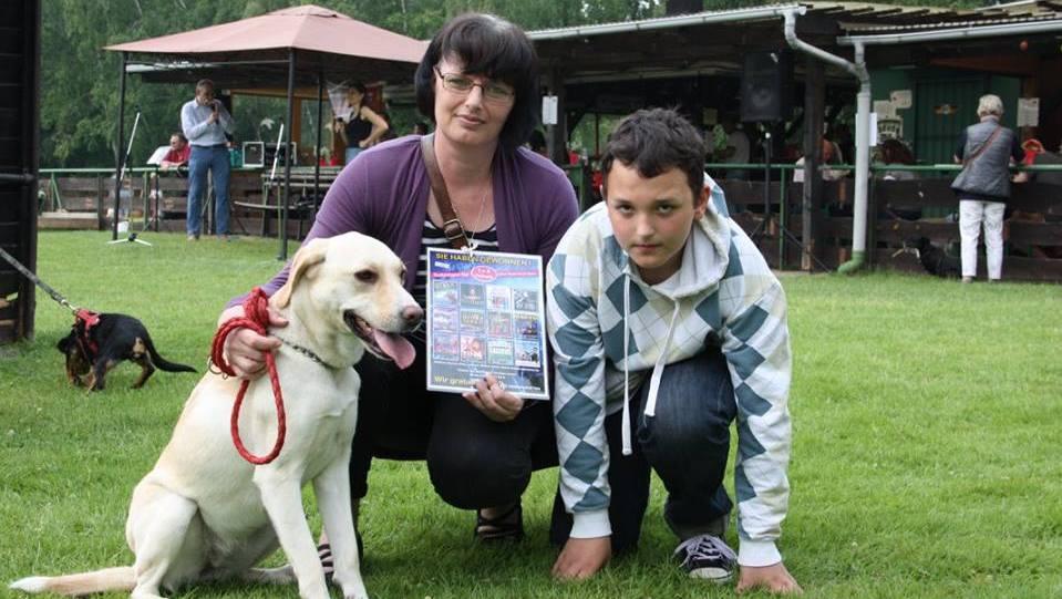 Die Gewinner des Hunderennens